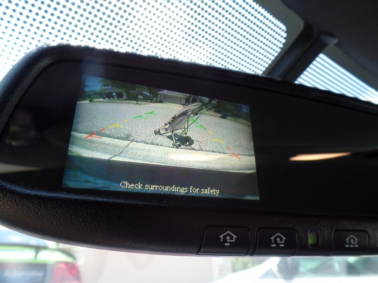 2014 Nissan Back Up Camera