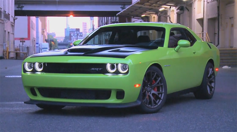 2015 Dodge Challenger Hellcat Back-Road Driving Footage: Video