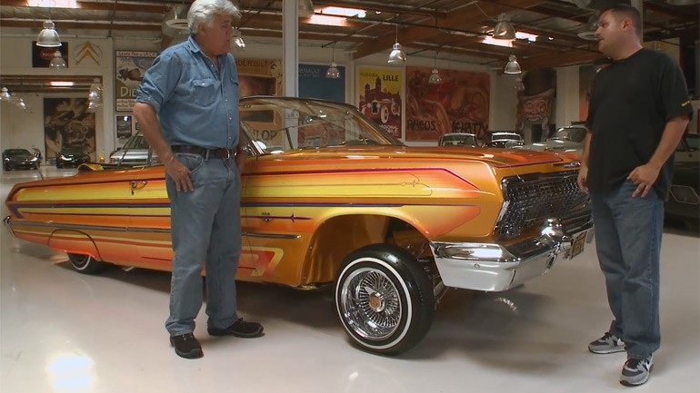 LA's Native Auto Art Form Explained: Jay Leno Goes Lowriding In Chevy Impala: Video