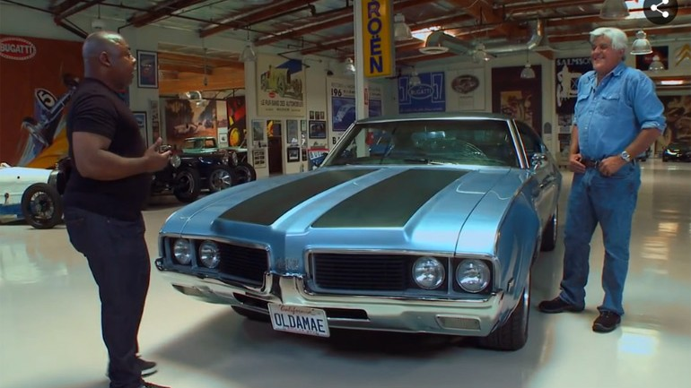 Paul Jackson Jr. Brings His 1969 Oldsmobile 442 To Jay Leno's Garage: Video