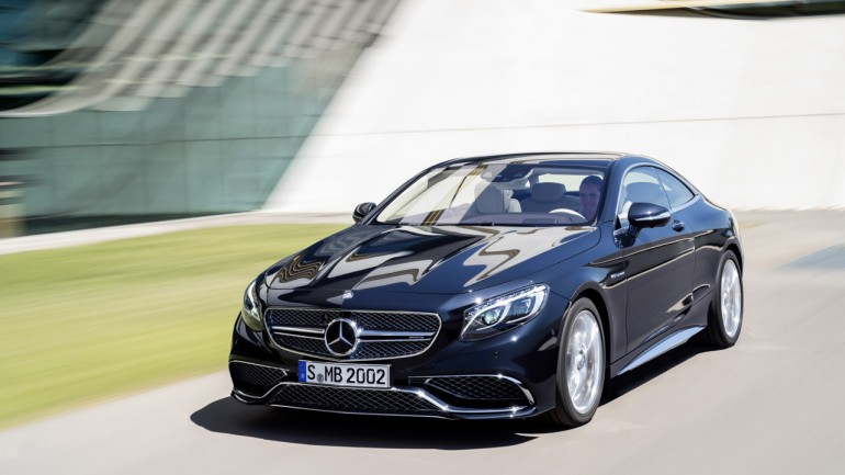 2015 Mercedes-Benz S65 AMG Coupe Introduced with Turbo V12 Power