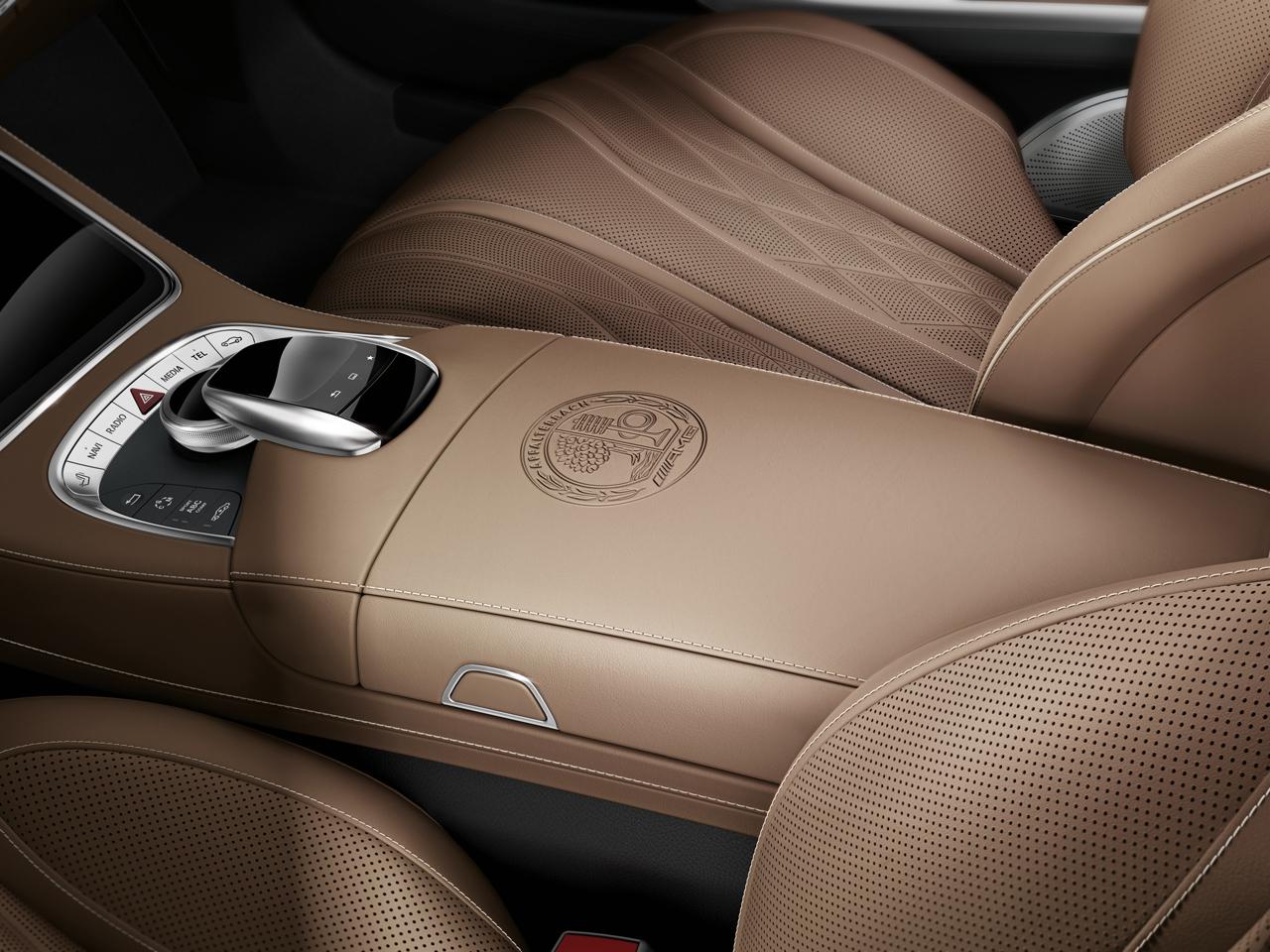 Mercedes benz s 65 amg coupe br 217 2014 for Leder auto interieur