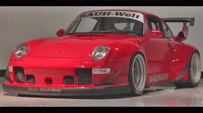 eGarage Automotive Storytellers Share Father and Son RWB Porsche Build Story: Video