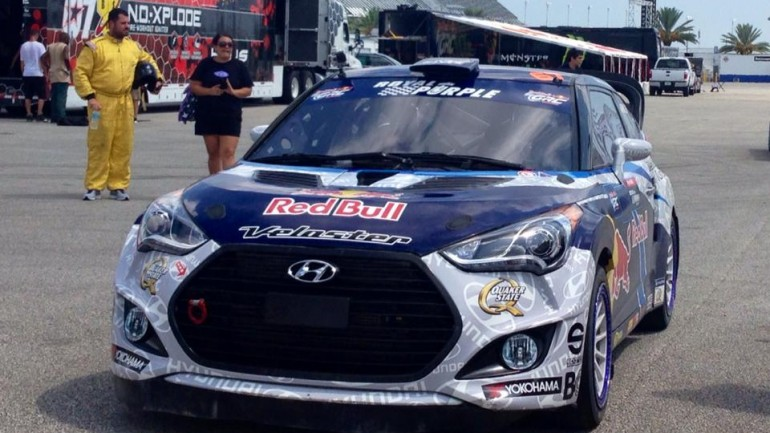Automotive Addicts Joins Hyundai / Rhys Millen Racing Team at Daytona: 2014 Red Bull Global Rally Cross