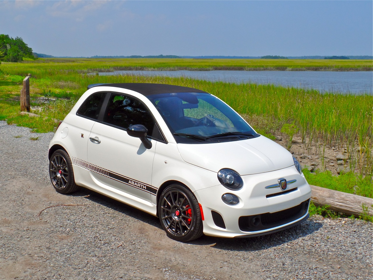 End Of The Summer Road Trip In A City Car The 2014 Fiat