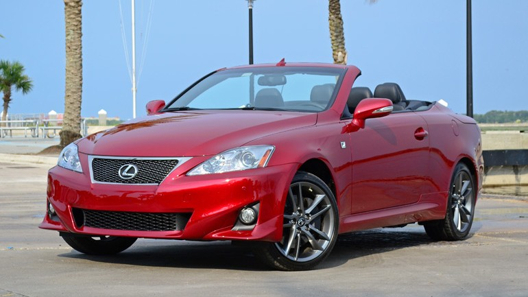 2014 Lexus IS 350 C Convertible F Sport Quick Spin