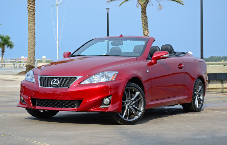 2014 lexus is 350 c convertible f sport quick spin. Black Bedroom Furniture Sets. Home Design Ideas
