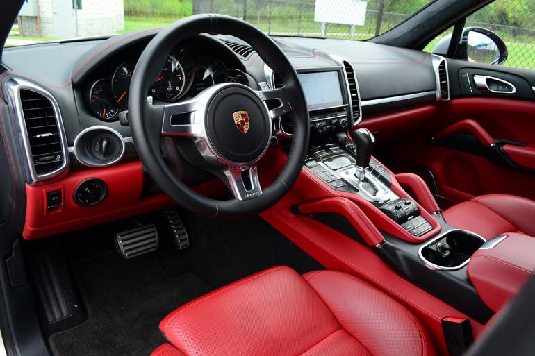 2014 porsche cayenne turbo s dashboard - 2014 Porsche Cayenne Turbo S Interior