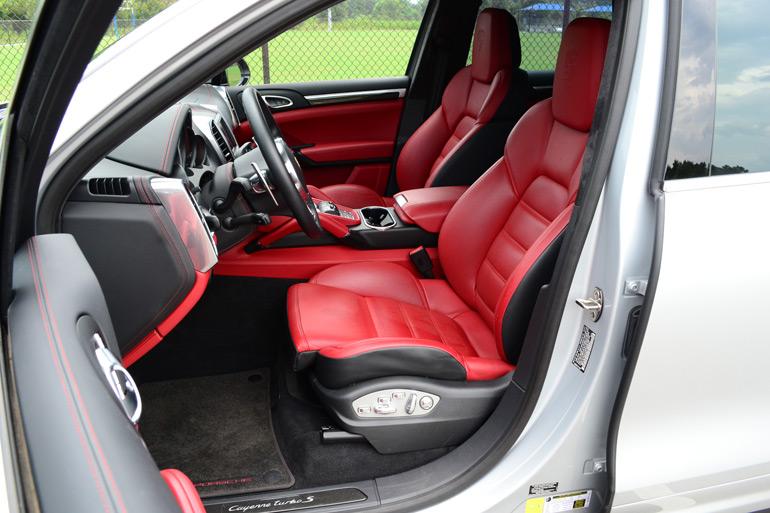 2014 Porsche Cayenne Turbo S Front Seats Automotive Addicts