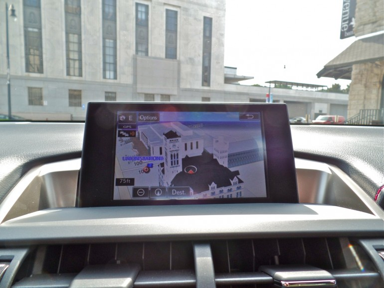 2015 Lexus NX GPS