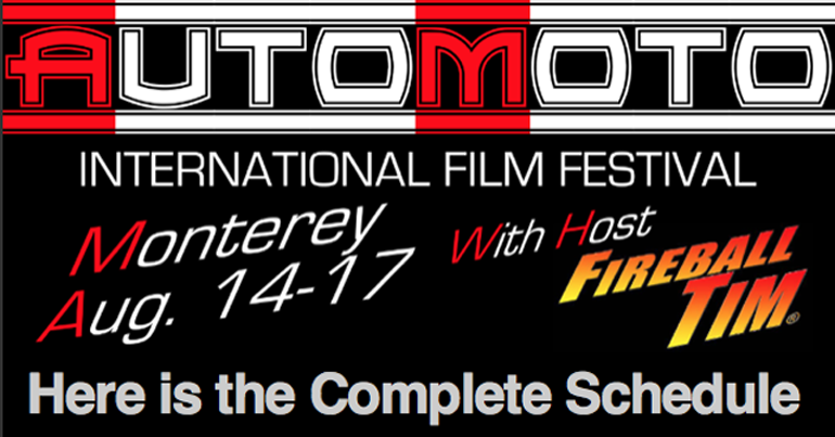 AUTOMOTO Film Festival Schedule Complete for August…