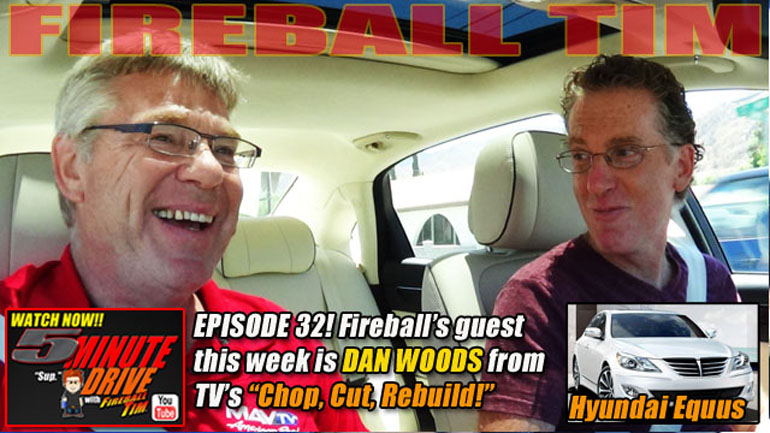 "5MINUTE DRIVE Ep32 with ""Chop, Cut, Rebuild's"" DAN WOODS & the 2014 Hyundai Equus Signature…"