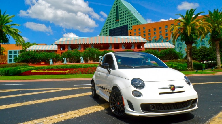 "End of the Summer Road Trip in a ""City Car"": The 2014 Fiat 500c Abarth Cabrio"
