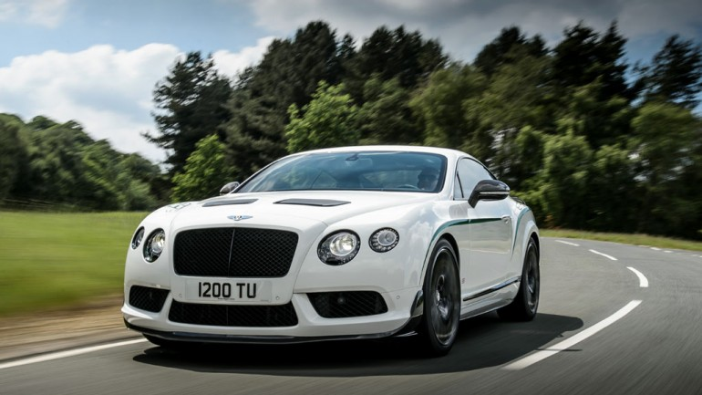 Bentley Continental GT3-R Makes North American Debut at 2014 Pebble Beach (0-60 in 3.6 seconds)