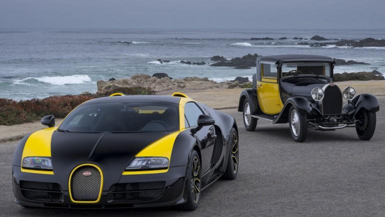 Bugatti 1 of 1 Veyron Revealed at Pebble Beach