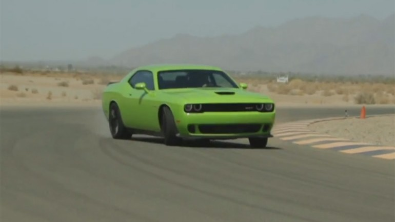 Motor Trend World's Fastest Car Show Gets Behind Wheel of 2015 Dodge Challenger SRT Hellcat: Video