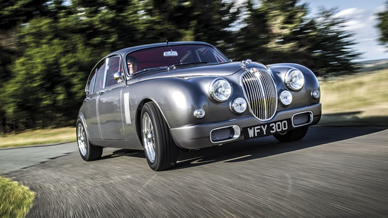 Restoring Jaguar's Heritage: Reengineered Jaguar Mark 2 by Callum Unveiled