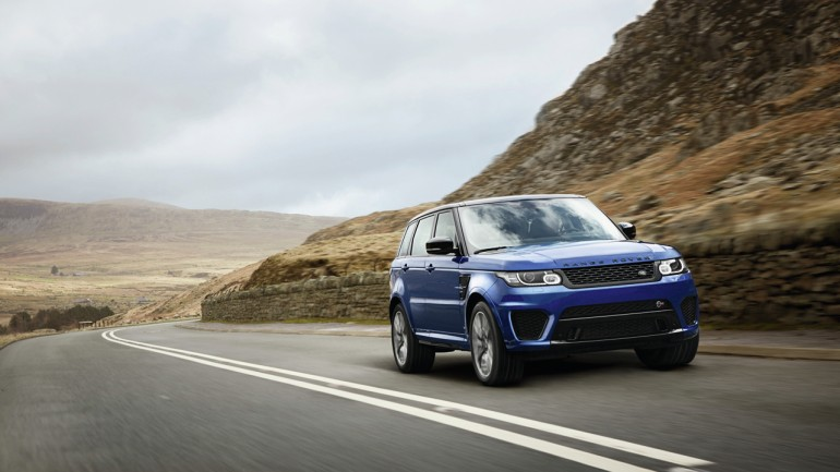 Fastest Land Rover Debuts: 2015 Range Rover Sport SVR w/550hp Revealed