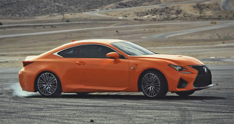 All-New Lexus RC F Ad Selling Donuts-err Golden Opportunity: Video