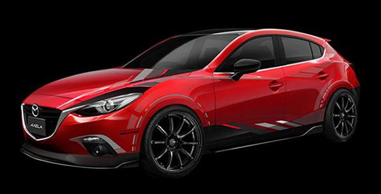 Mazda 3 Sport Concept from Tokyo Auto Salon