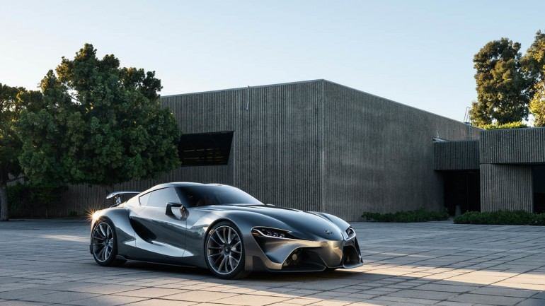 Toyota FT-1 Concept Inspires Real-World Supra: Tweaked Version Revealed at Pebble Beach