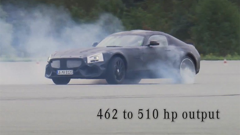 Mercedes-Benz AMG GT Is a Development without Compromise – Coming Sept 9th: Video