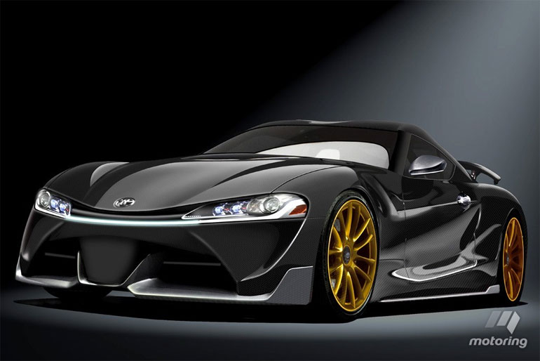 Next Toyota Supra Rendering by Motoring.com.au