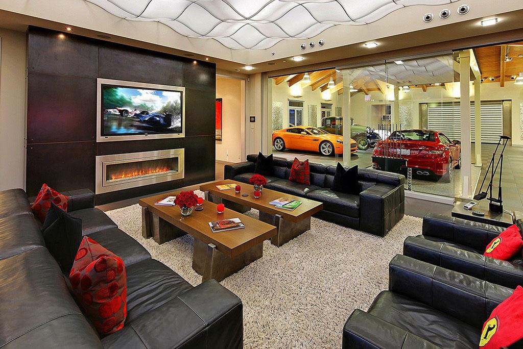 $4 Million 2 Bedroom, 2.5 Bathroom House W/ 16 Car Garage Is Ideal  Automotive Enthusiast Haven