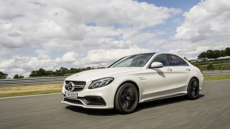 Benz Unleashes Up To 503-HP In All-New 2015 Mercedes-AMG C63