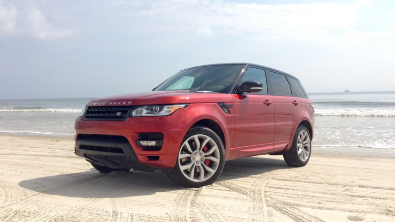 The Perfect Beach Vehicle: 2014 Land Rover Range Rover Sport V8 Autobiography