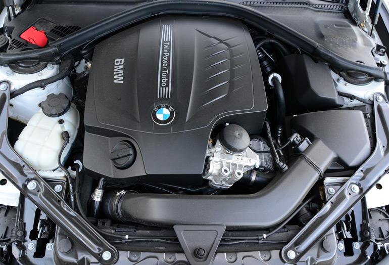 2014 Bmw 435i Convertible Engine