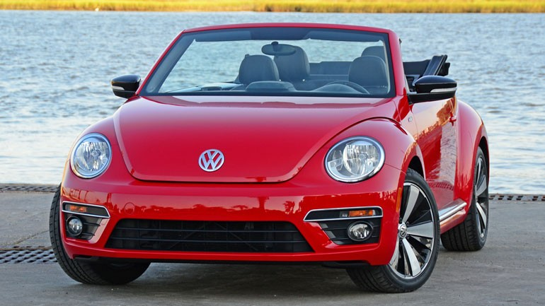 2014 Volkswagen Beetle Convertible R-Line Review & Test Drive