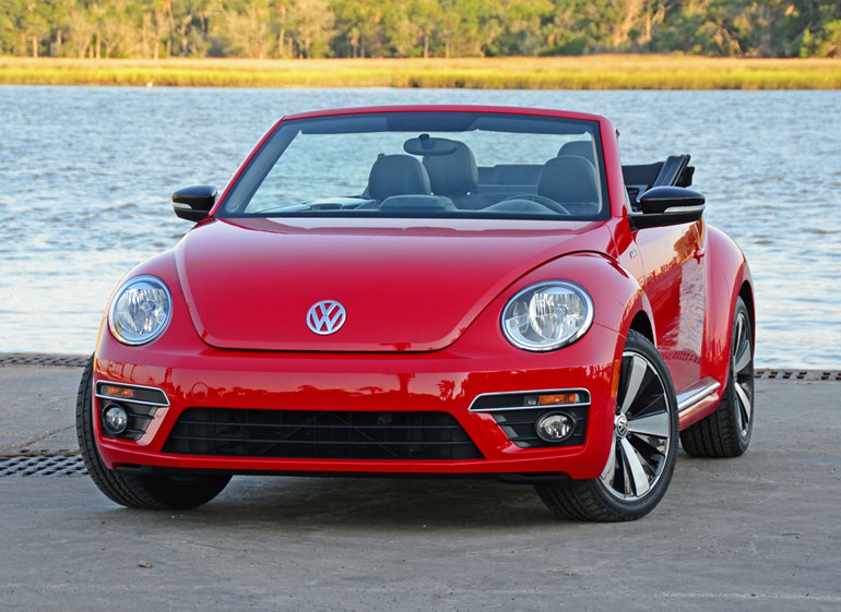 2014 volkswagen beetle convertible r line review test drive. Black Bedroom Furniture Sets. Home Design Ideas