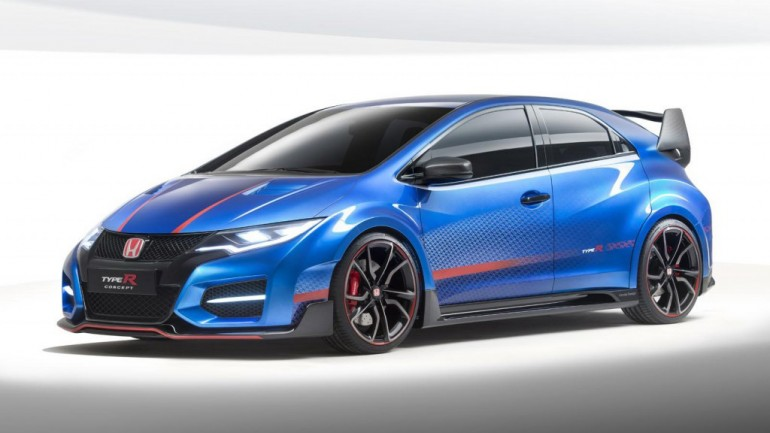 High-Performance Honda Civic Type R Concept To Bow at Paris Auto Show
