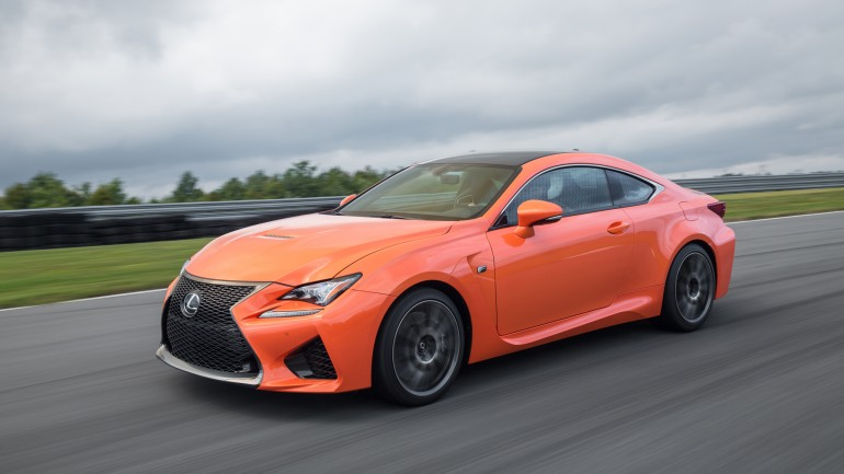 All-New 2015 Lexus RC F Packs 467 Horsepower and $63,325 Starting Price Tag