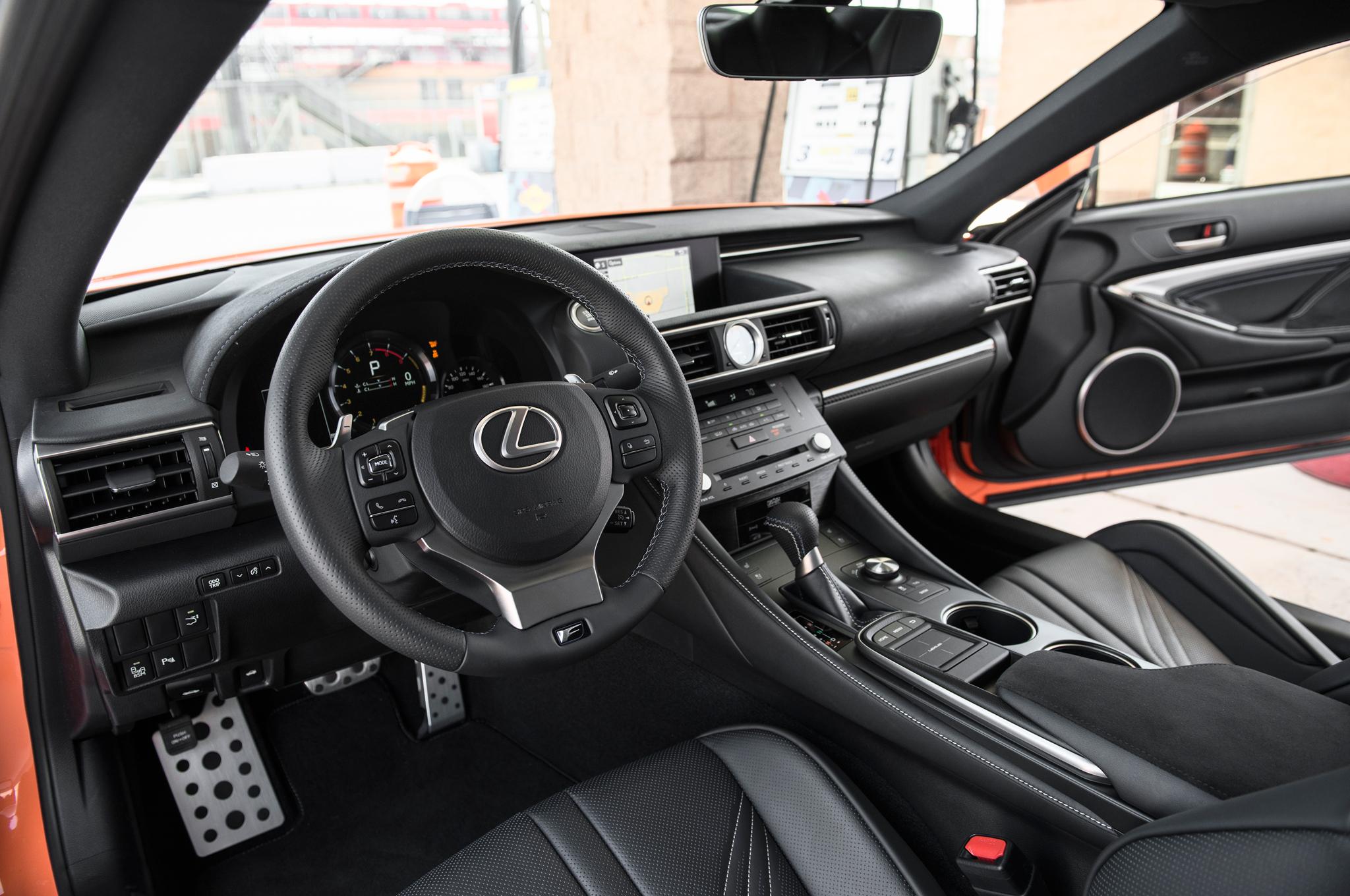 Superior 2015 Lexus Rc F Interior