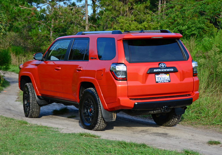 full review 2015 toyota 4runner trd pro test drive. Black Bedroom Furniture Sets. Home Design Ideas