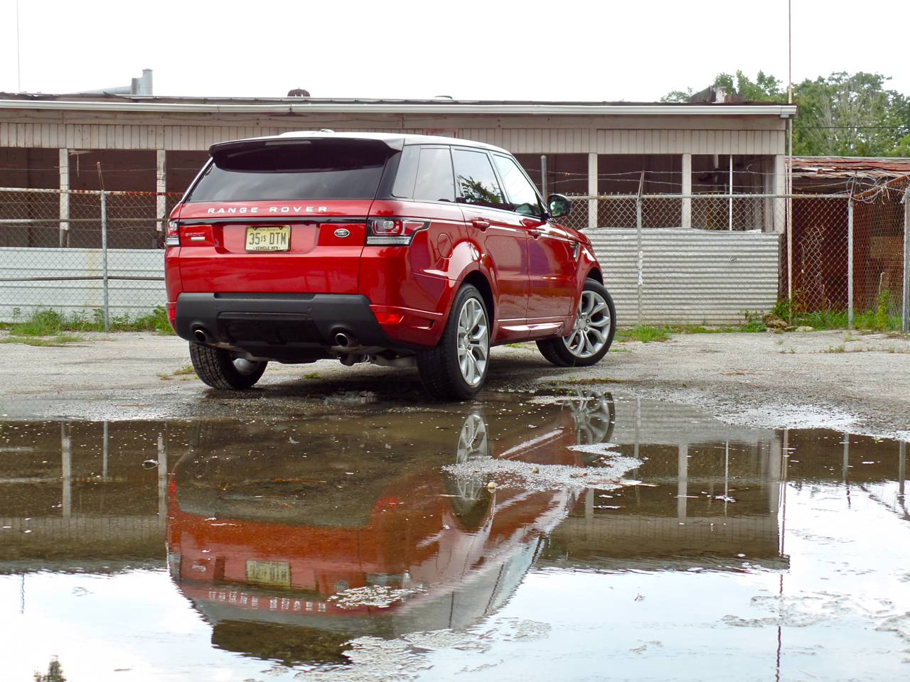 The Perfect Beach Vehicle: 2014 Land Rover Range Rover Sport V8