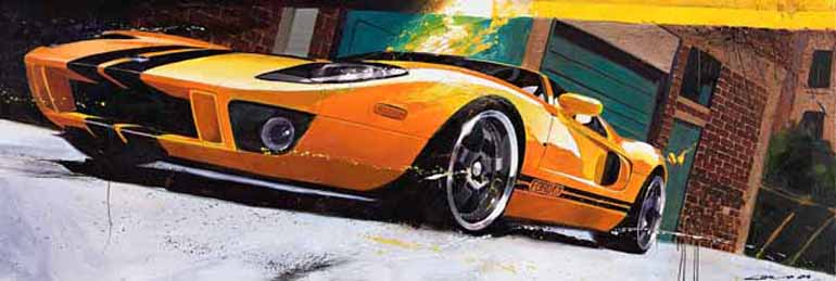 Ford GT Designer & Amazing Automotive Artist CAMILO PARDO on 5MINUTE DRIVE Episode 34…