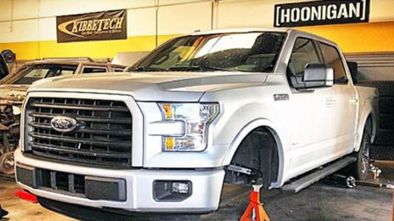 Specialized 2015 Ford F-150 Teased by Vaughn Gittin Jr.