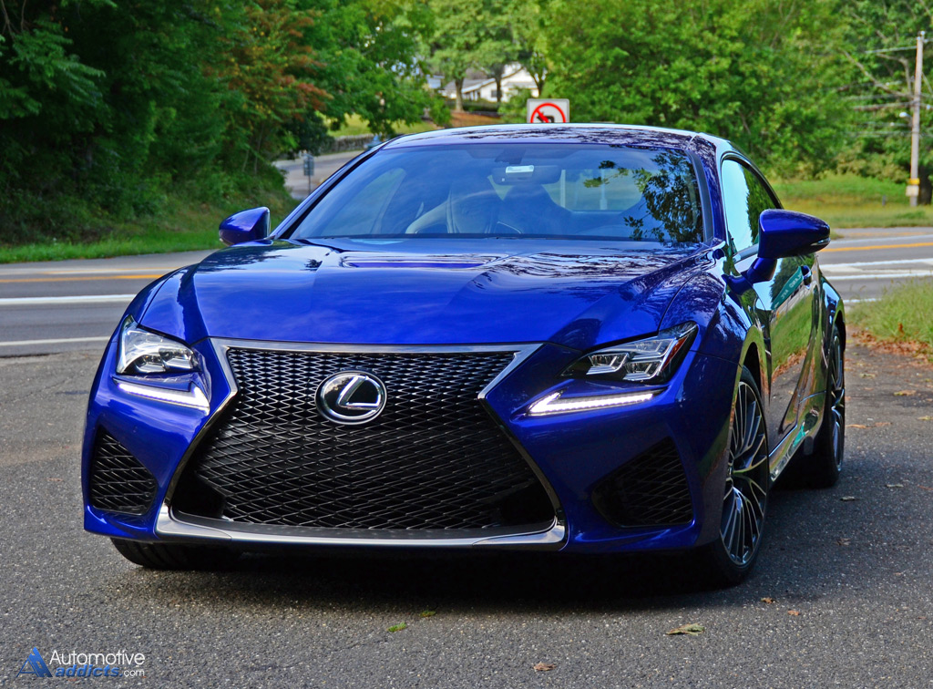 2015 lexus rc f first impressions and test drive. Black Bedroom Furniture Sets. Home Design Ideas