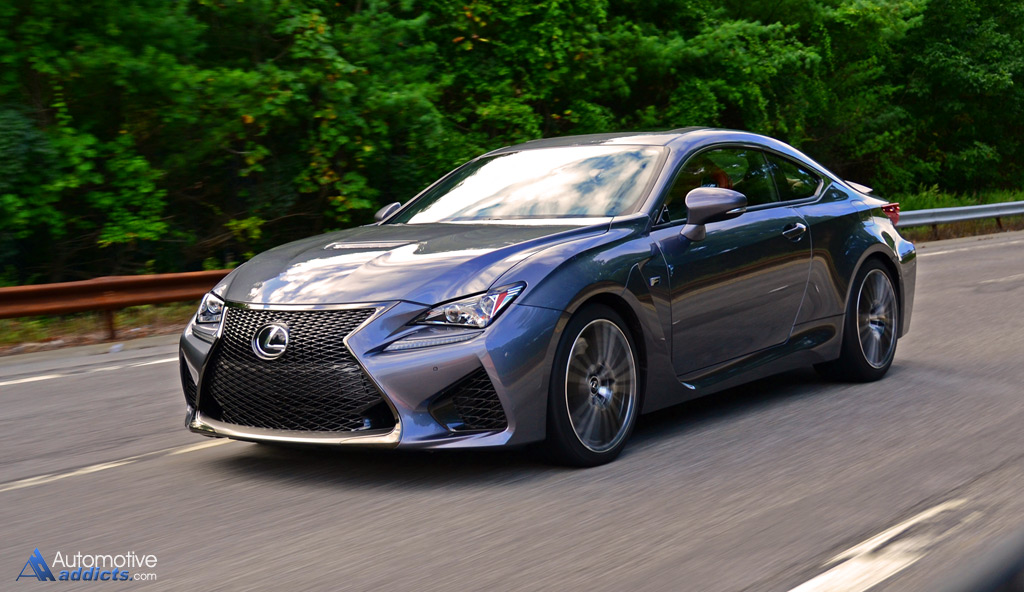 2015 Lexus Rc F First Impressions And Test Drive