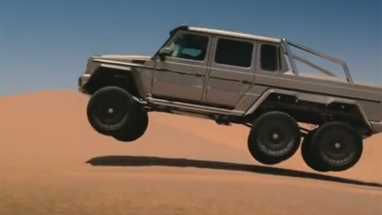 Bigger Is Better: Top Gear's Hammond in the Mercedes-Benz G63 AMG 6×6 in Dubai – Video