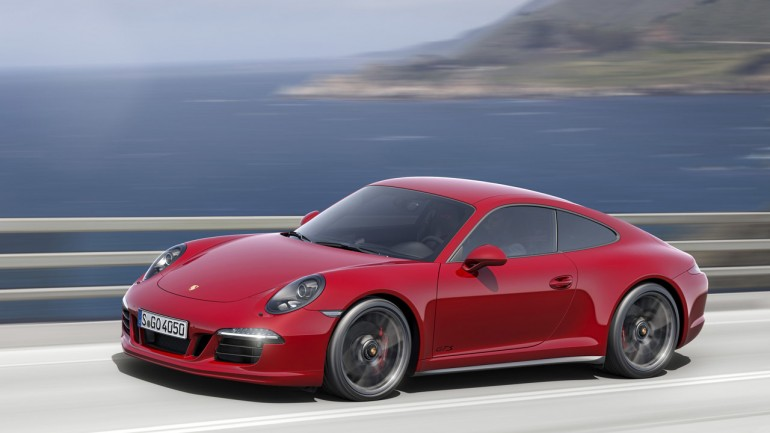 Porsche Introduces More Powerful and Dynamic 2015 911 Carrera GTS