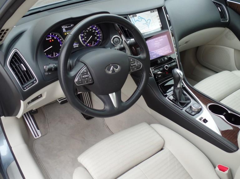 2014 Infinit Q50s Steering Wheel
