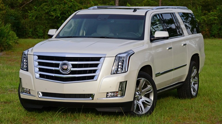 2015 Cadillac Escalade ESV 4WD Premium Review & Test Drive