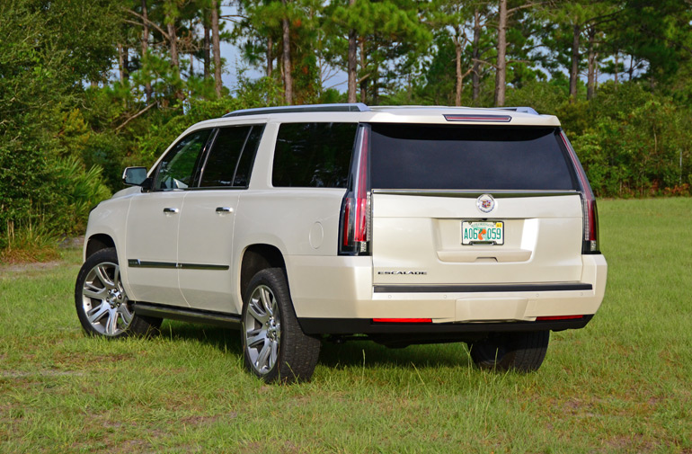 2015 cadillac escalade esv rear 3. Cars Review. Best American Auto & Cars Review