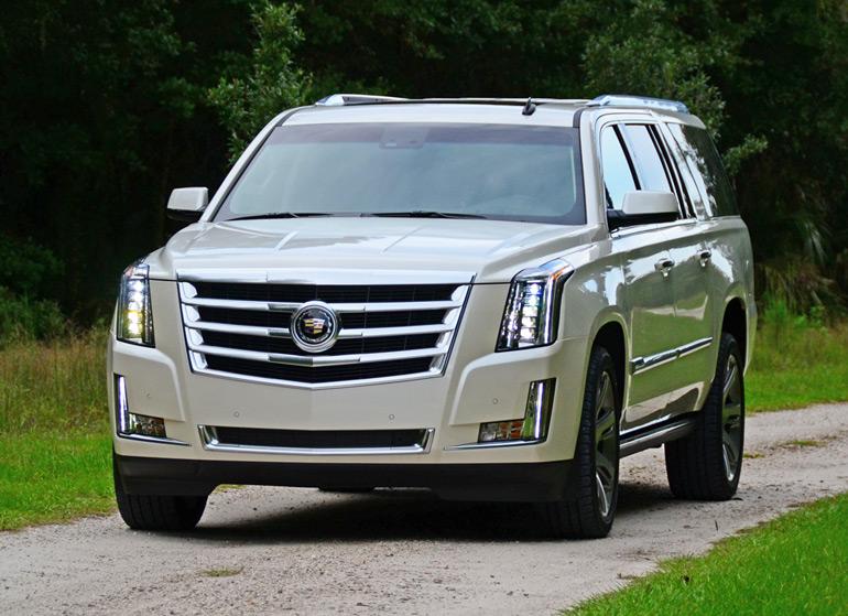 2015 Cadillac Escalade Esv Running