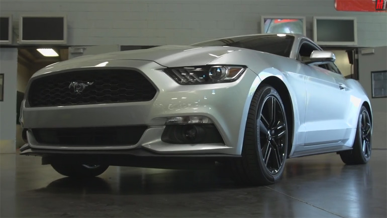 Motor Trend Hints SVO Return in All-New 2015 Ford Mustang EcoBoost: Test Drive Review Video