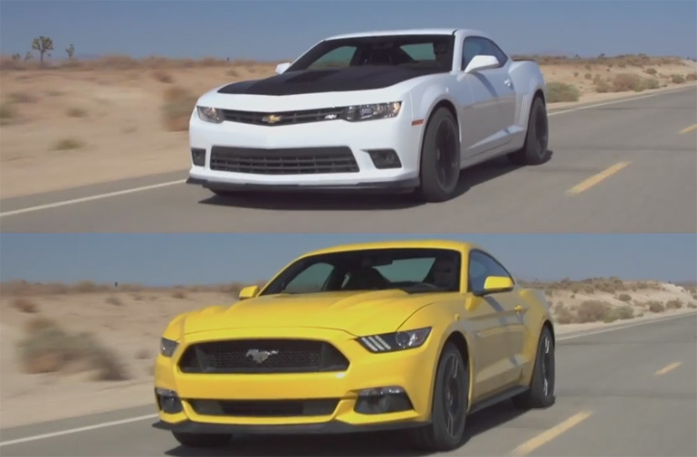 2015 ford mustang gt vs 2015 chevrolet camaro ss motor trend head 2. Cars Review. Best American Auto & Cars Review